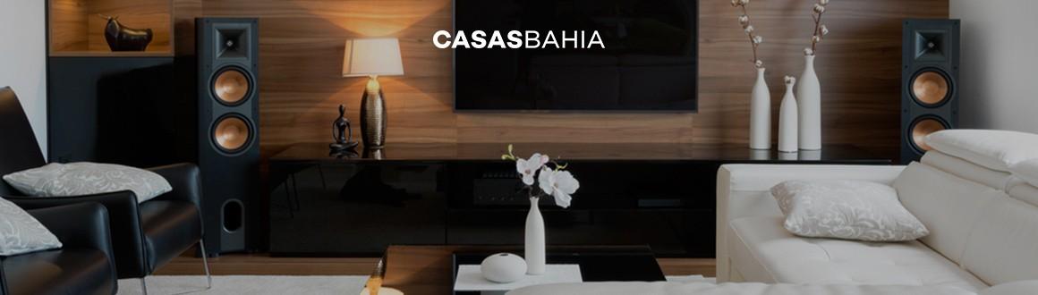 sala de estar com televisão